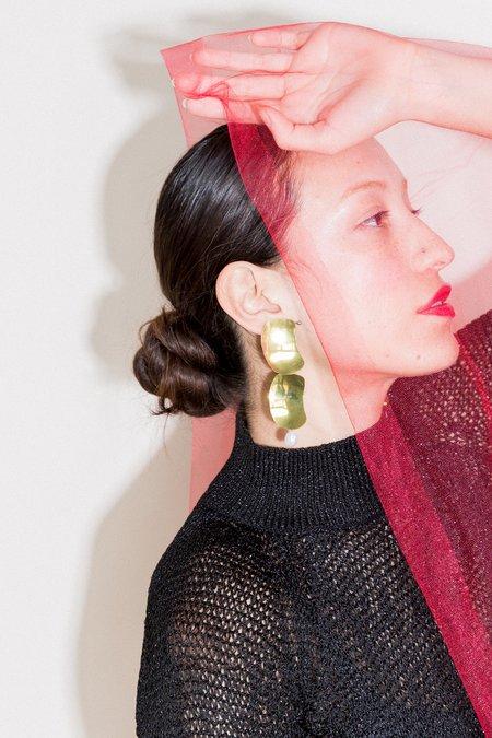 Hey Murphy Ella Earrings - Brass