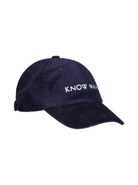 Know Wave Corduroy Hat - Navy