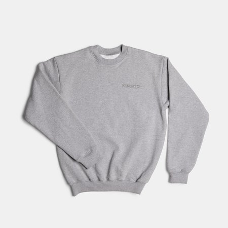 KUARTO Heavy Fleece Pullover Crew