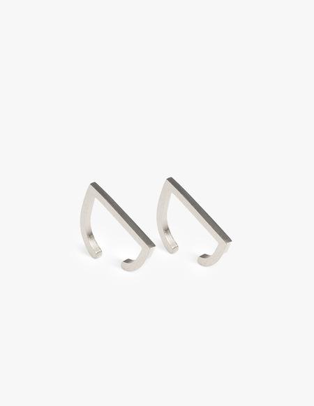 The Boyscouts Rivet Earring - Silver