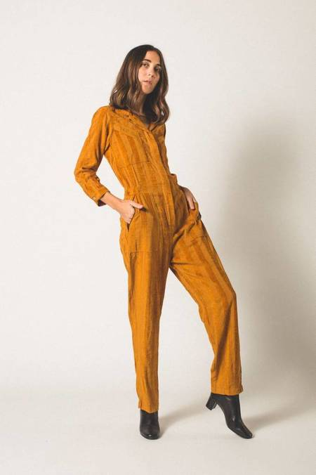 The Odells Machina Jumpsuit - Rust