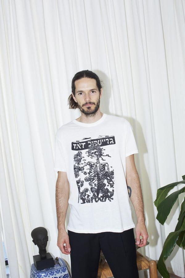 Men's Assembly White Dead T-Shirt