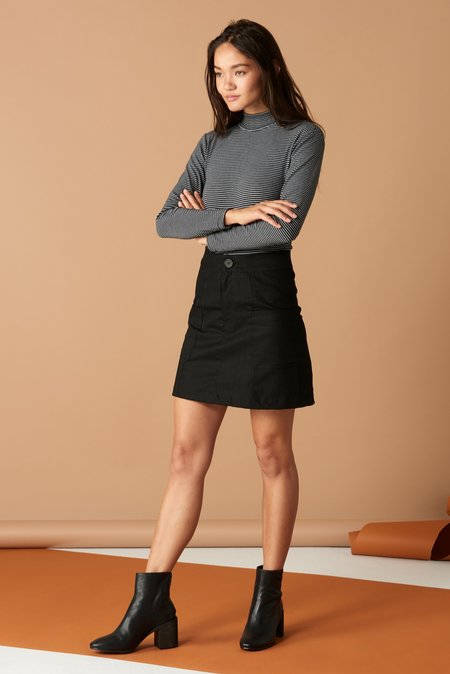 Whimsy and Row Alice Skirt - Black