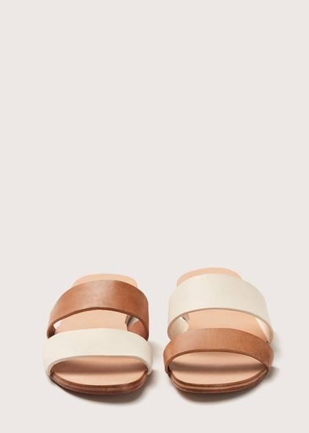 Feit Asymmetrical Sandal - Seed/Tan