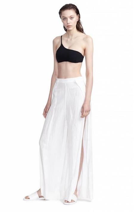Alix NYC Shore Club Linen Pant - WHITE