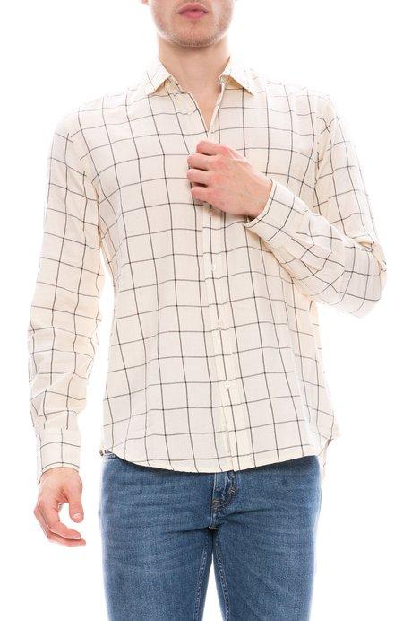 Thinking MU Shirt - Ecru Squared