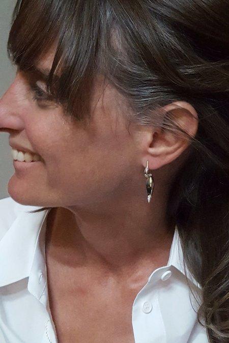 MM Druck Empress Duck Earrings