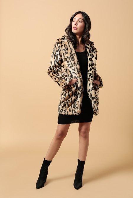 APPARIS Margot Coat - Leopard