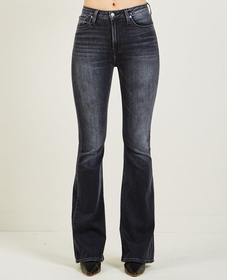 Hudson HOLLY HIGH RISE FLARE JEANS - KONA