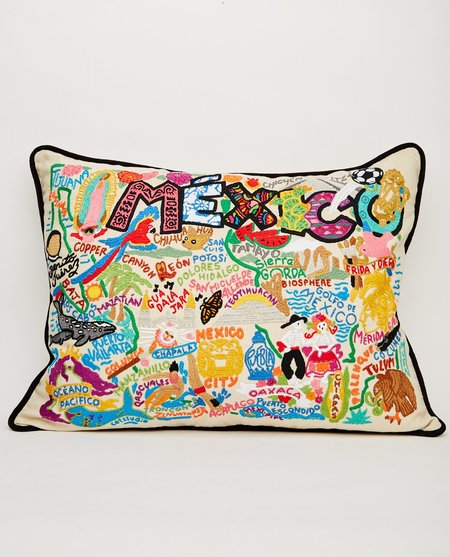 CATSTUDIO MEXICO PILLOW - CREAM