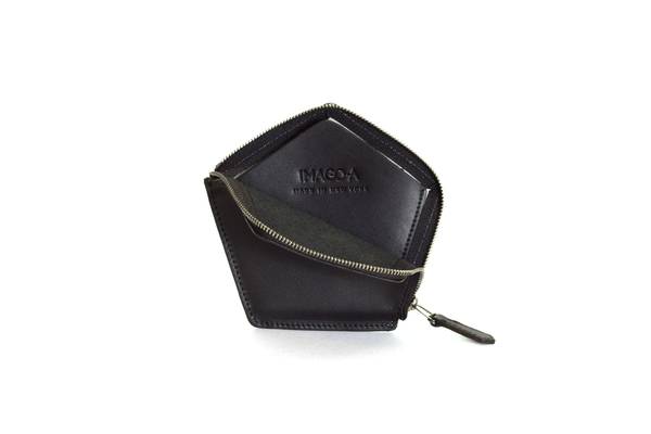 Nº22 Penta Wallet in Onyx and Black