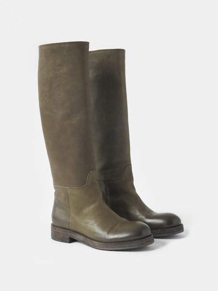 del carlo salak boot - old olive