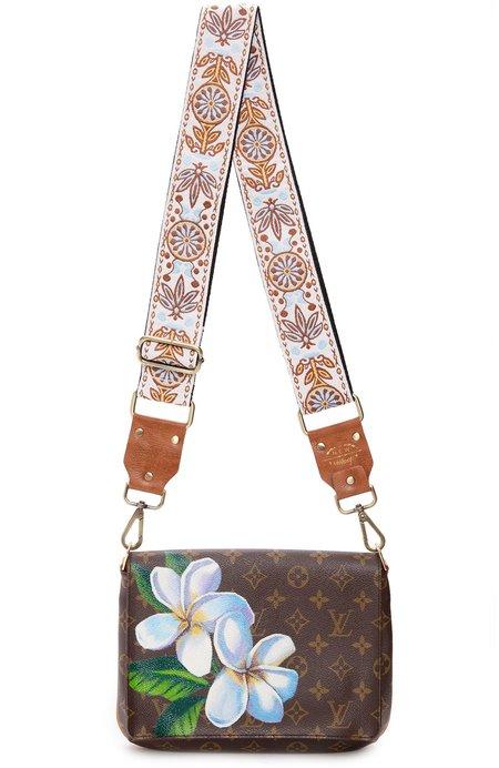 New Vintage Vintage LV Musette Tango Shoulder Bag - Magnolia