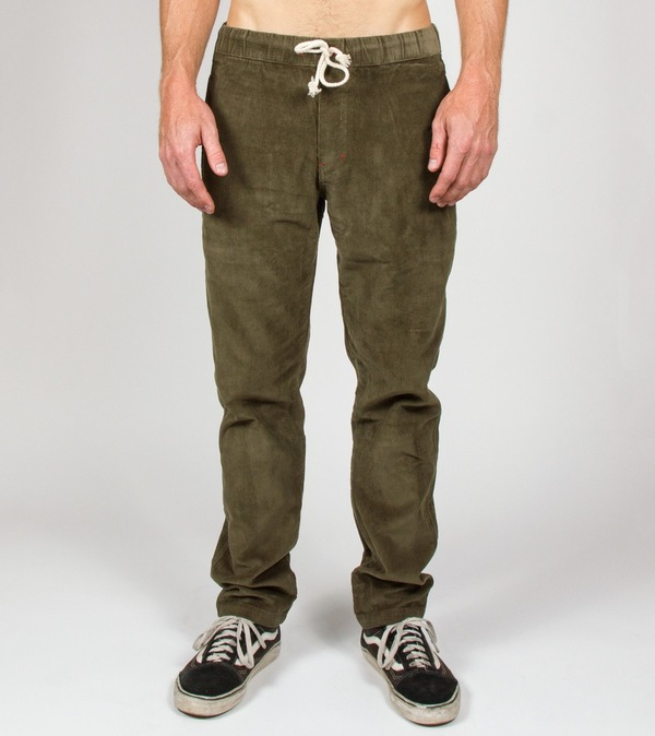 Iron And Resin Canyon Pant Olive