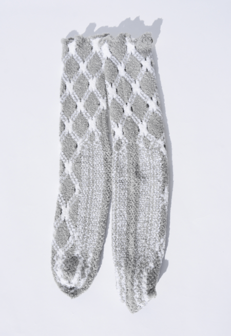 Antipast Fuzzy Knitted Socks