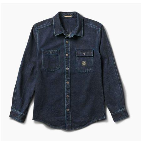 Roark Revival La Estepa Argentina Long Sleeve Button Up Shirt - BLUE