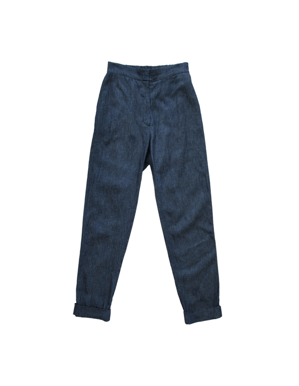 ALI GOLDEN DENIM PANT