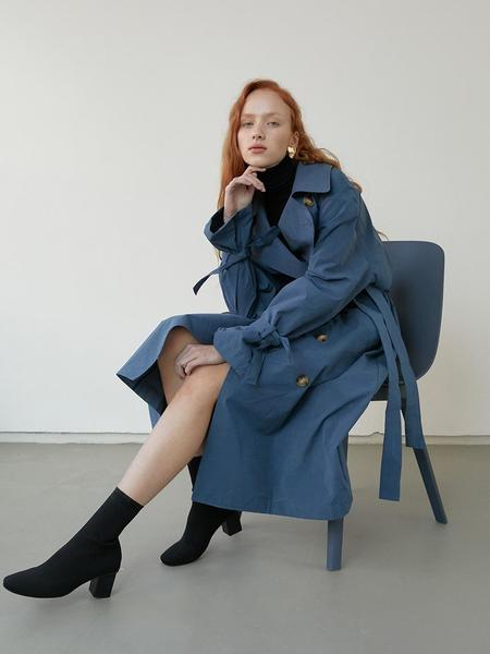 BLUV Trench Coat - Blue