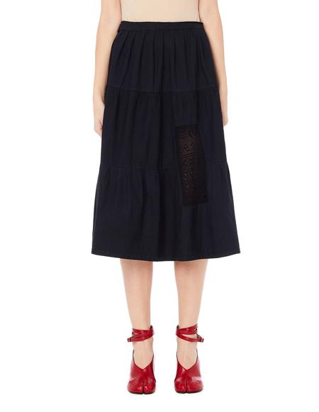 Blackyoto Hikari Laced Skirt - Black