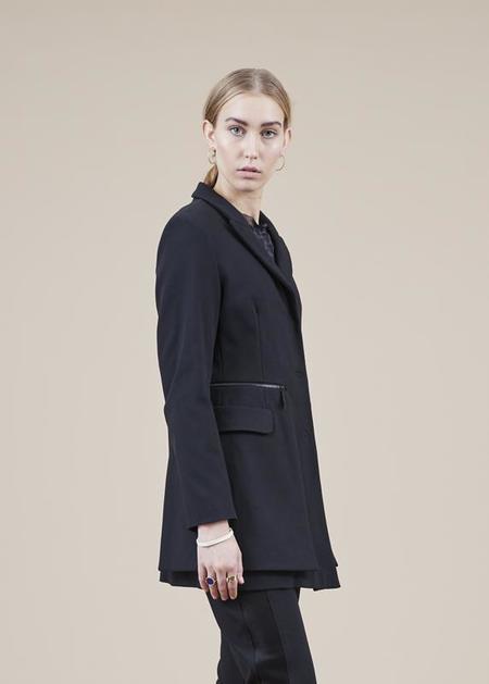 annette gortz Pinta Zip-Away Coat - black