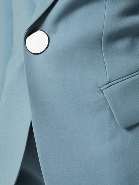Petar Petrov Jovan Single Breasted Tailored Jacket With Sleeve Slits