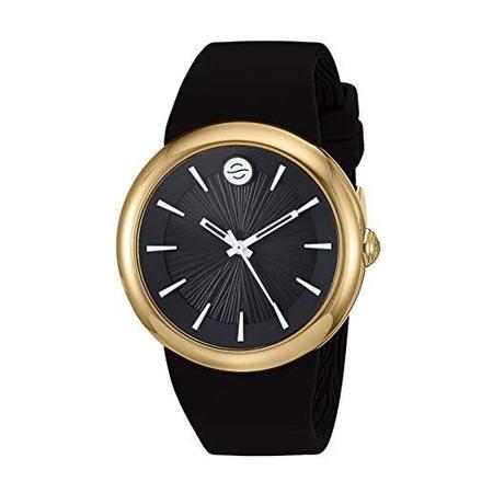 Unisex Philip Stein Fruitz Sport Watch with White Dial and Black Strap