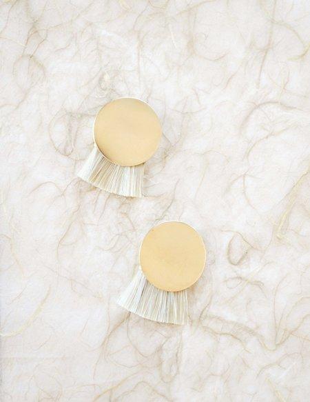 Anna Monet Iris Earrings - Morning Light