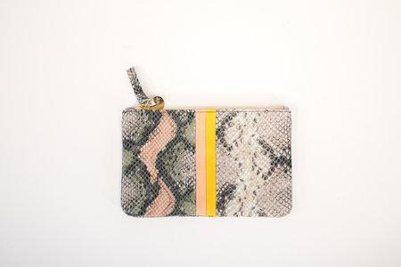 Clare V. Wallet Clutch - Snakeskin