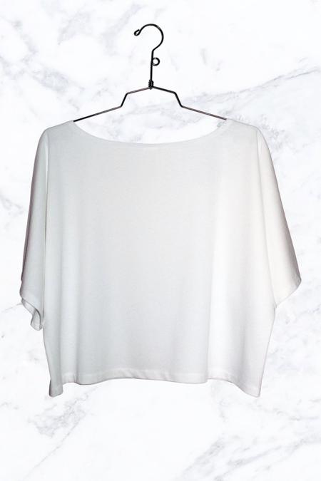 337 Brand Bailey Crop T-shirt - White