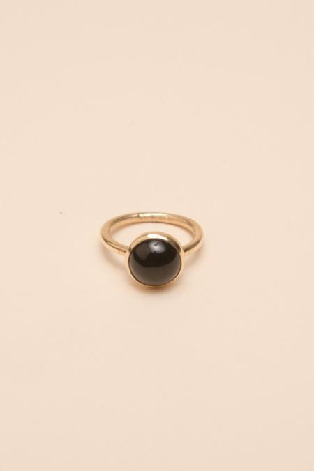 MAAARI Lunar Ring - Onyx