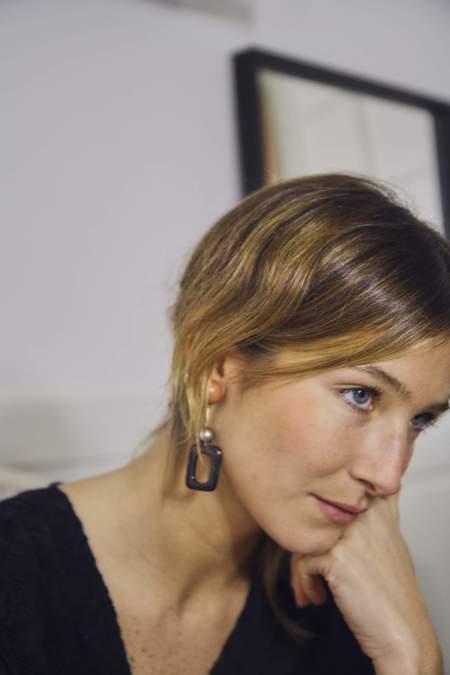Bae Bae Autumn Onyx Earrings
