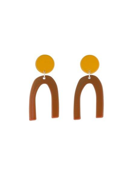 BIANCA MAVRICK OTIS EARRINGS - SUNFLOWER