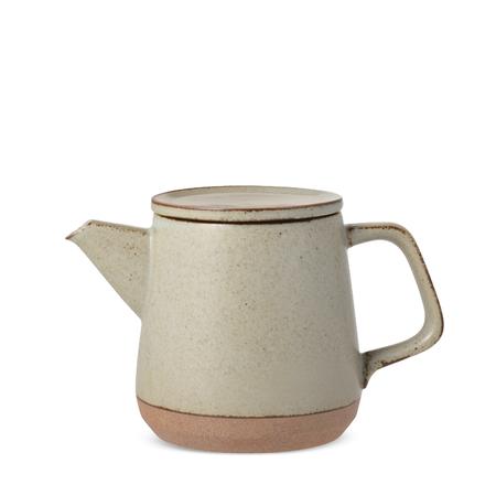 Kinto Japan Ceramic Lab Teapot - BEIGE