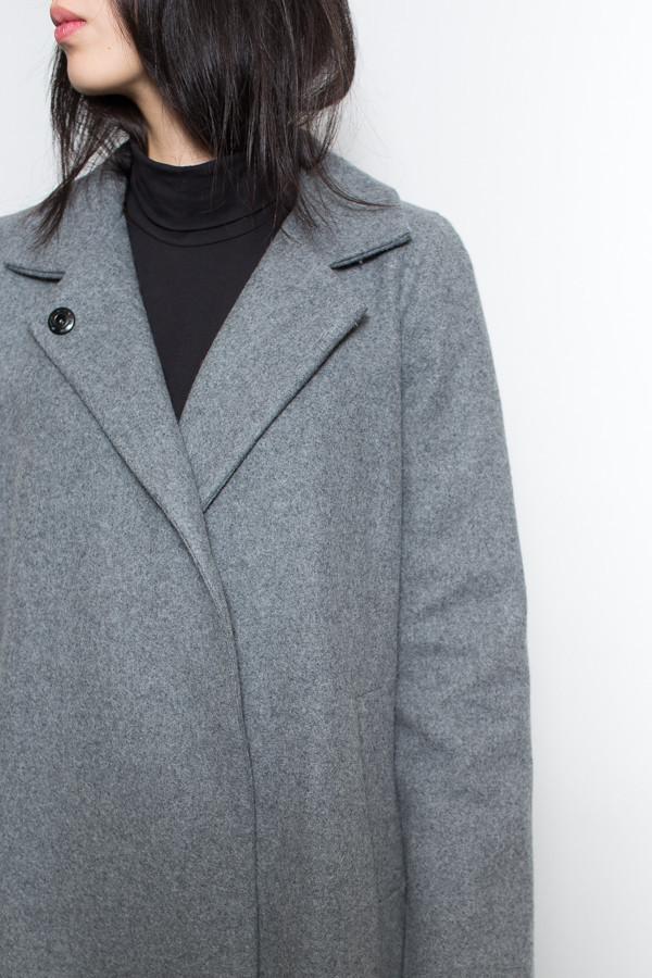 Ali Golden Notch Collar Coat