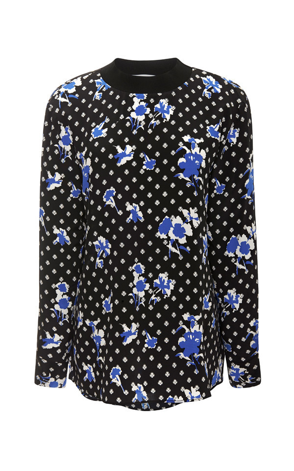 Thakoon Addition Floral Crewneck Top