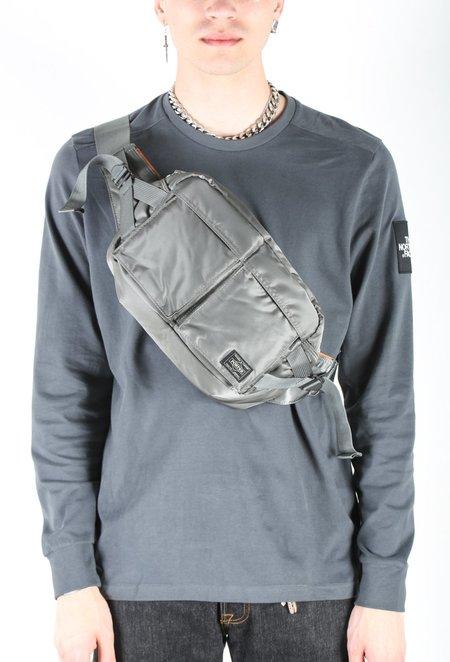 Porter Tanker 2Way Waist Bag - Gray