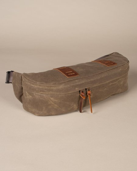 Wood&Faulk Big Bum Waist Pack - Olympic Moss