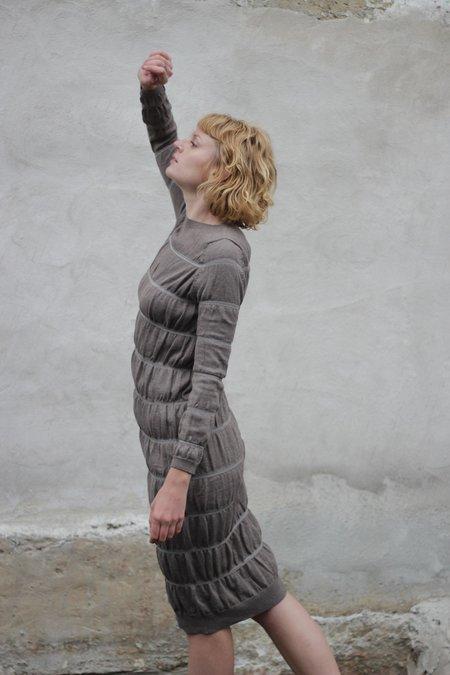 Wol Hide Layering Dress - Earth