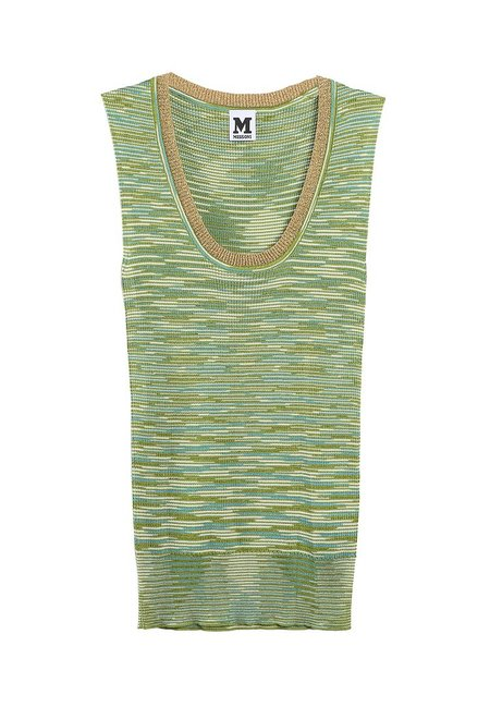 M Missoni Tank - Green