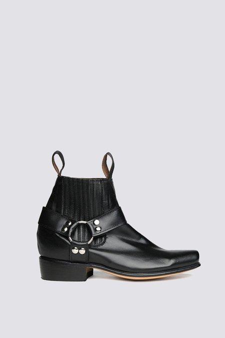 Unisex Chamula Leather Botin Cochi Boot - black