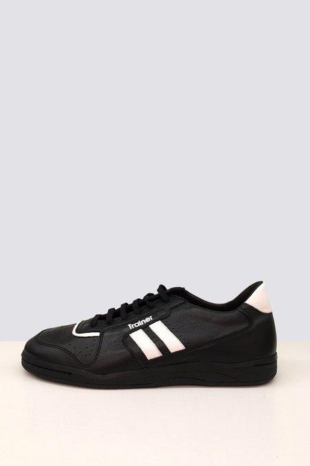 ZDA Leather Sports Trainer - black