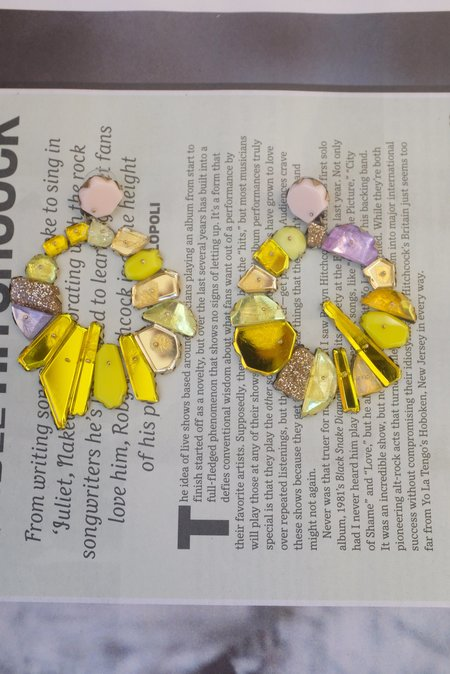 Nikki Couppee Canary Gold Earrings