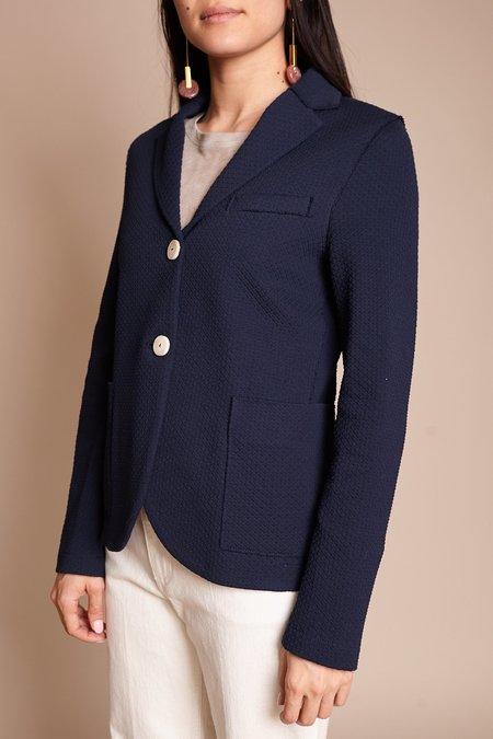 Harris Wharf London Boyfriend Jacket  - Navy Blue