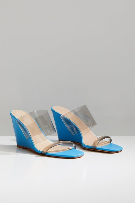 Maryam Nassir Zadeh Olympia Wedge - Electric Blue