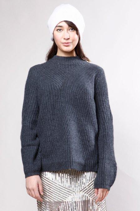 White + Warren Sweater - Charcoal Heather