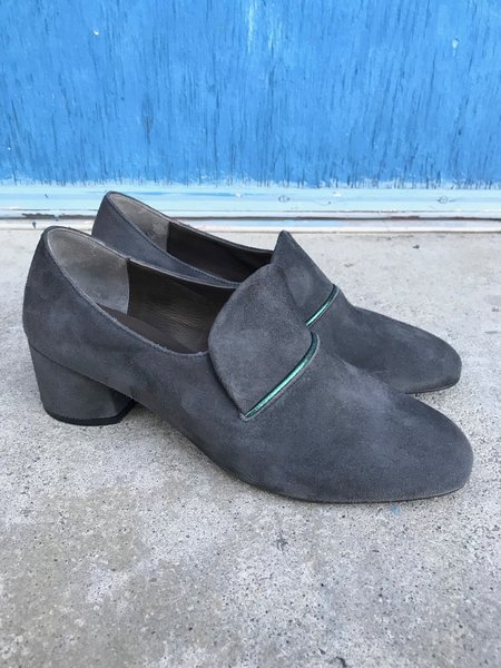 Coclico Electra Suede Loafer - Charcoal