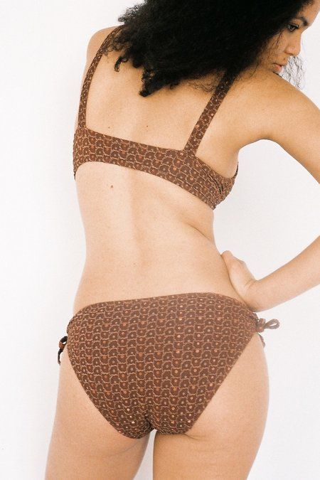 Lonely Nancy Brief - Rust Shimmer