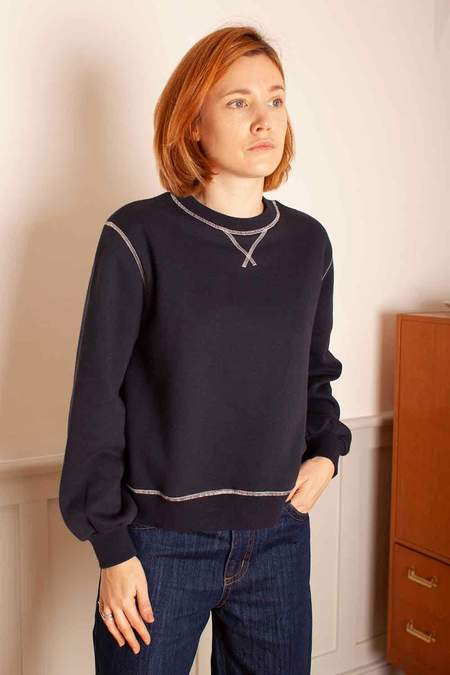 L.F.Markey Thierry Sweatshirt - Navy