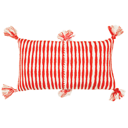Archive New York Antigua Pillow - Red