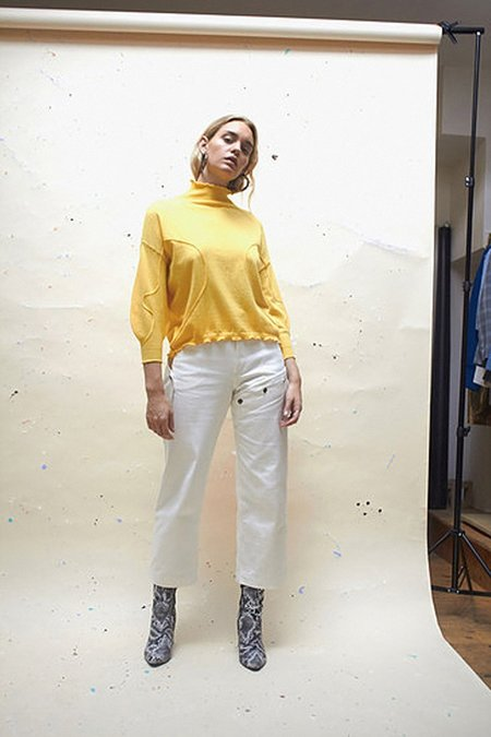 House of Sunny Volume Jumper - Marigold